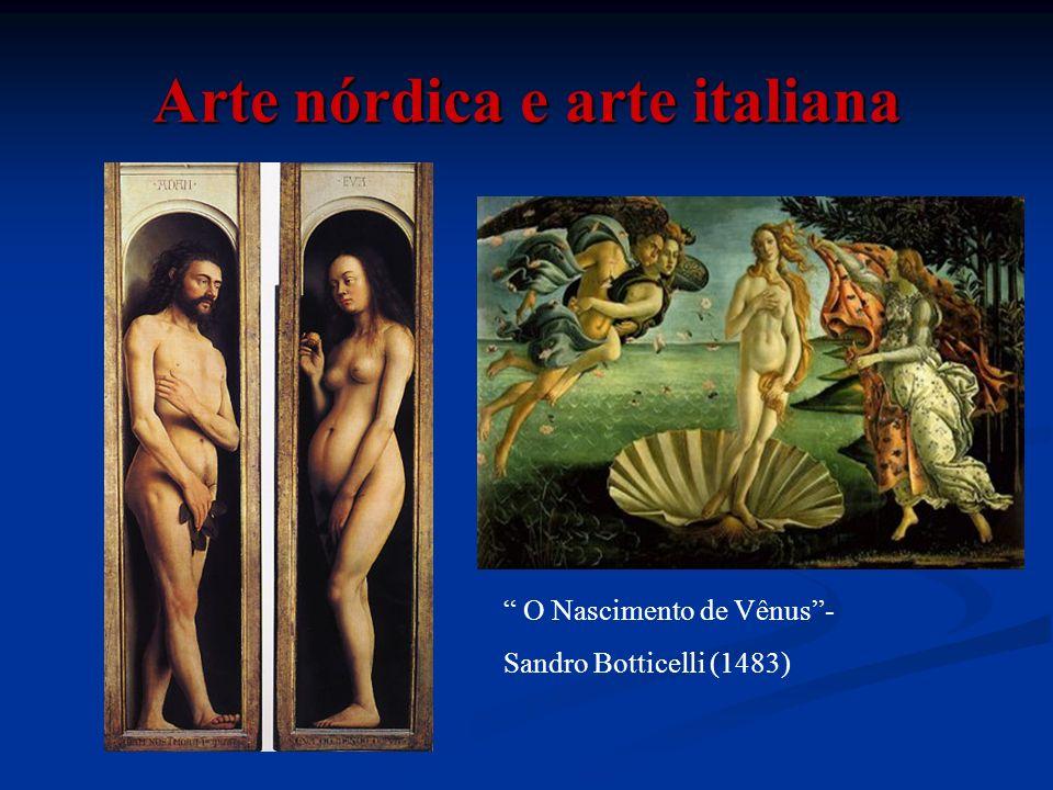 Arte nórdica e arte italiana