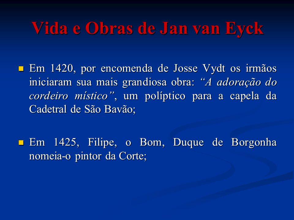 Vida e Obras de Jan van Eyck