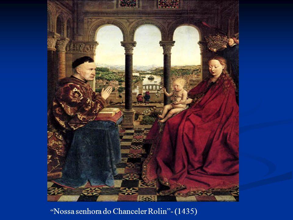 Nossa senhora do Chanceler Rolin - (1435)