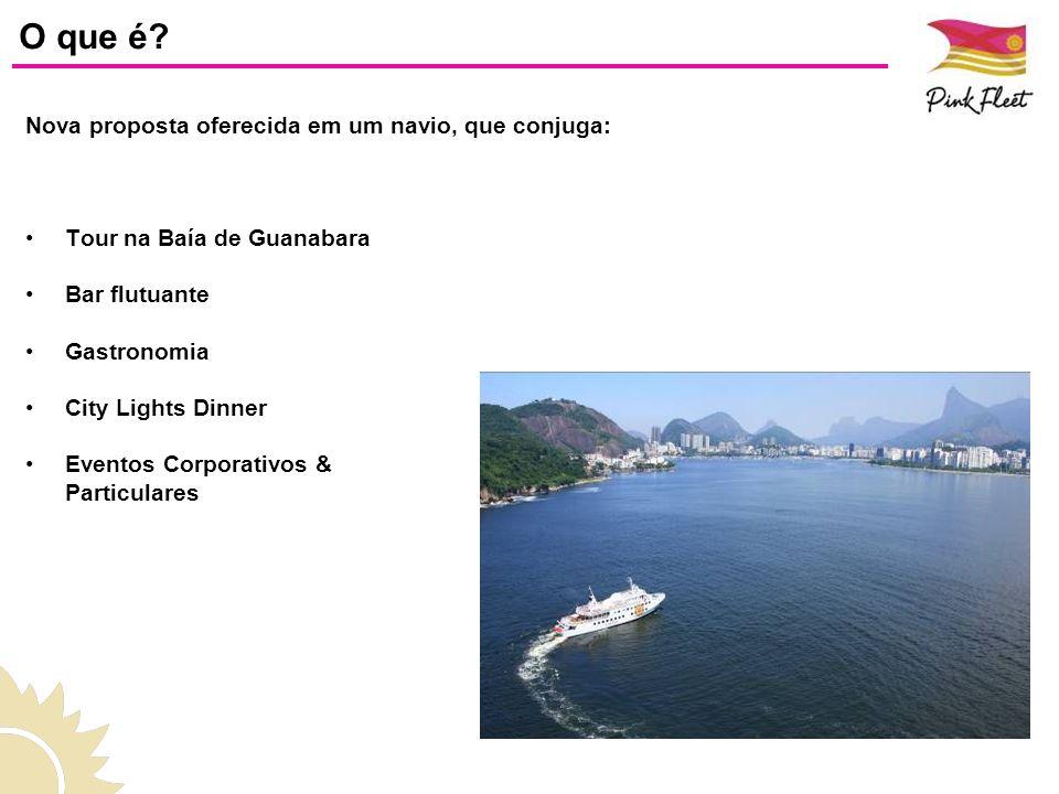 O que é Nova proposta oferecida em um navio, que conjuga: