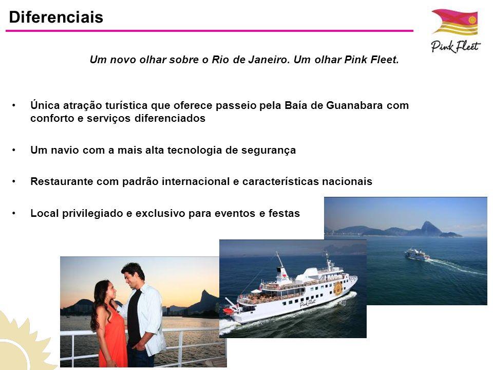 Um novo olhar sobre o Rio de Janeiro. Um olhar Pink Fleet.
