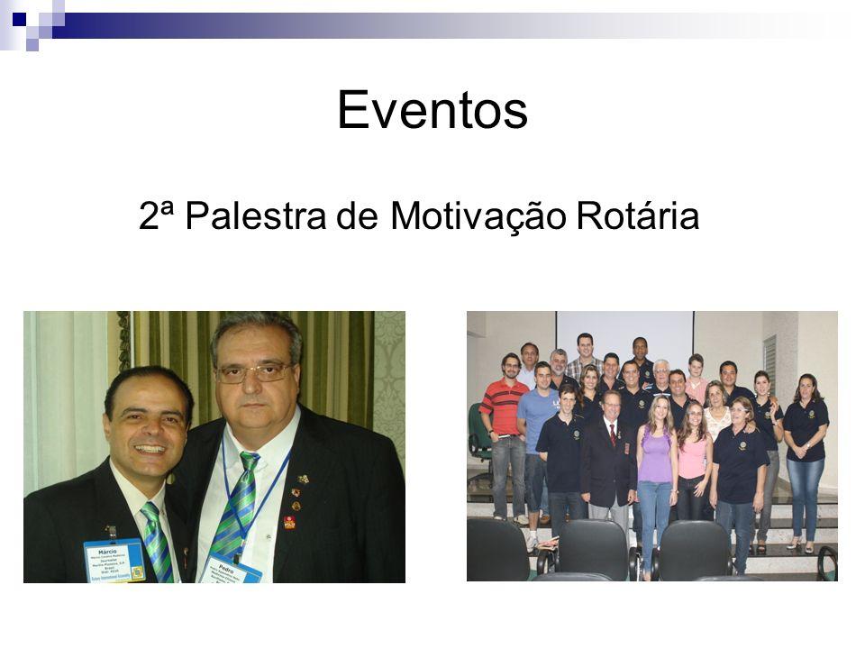 Eventos 2ª Palestra de Motivação Rotária