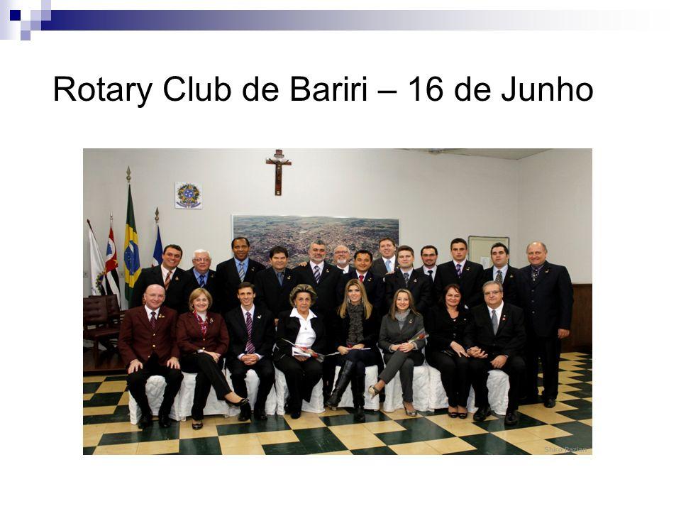 Rotary Club de Bariri – 16 de Junho
