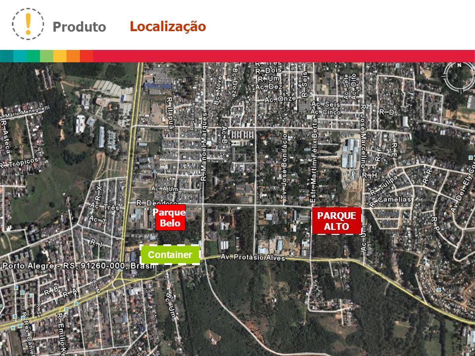 Produto Localização Parque Belo PARQUE ALTO Container