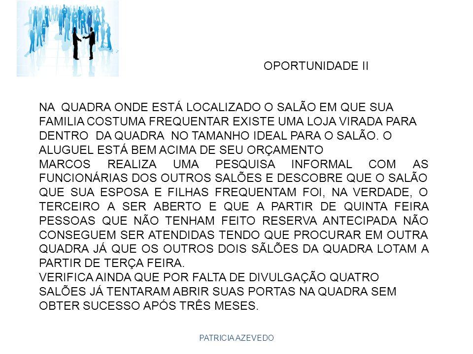 OPORTUNIDADE II