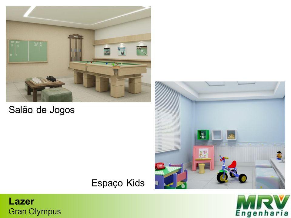 Salão de Jogos Espaço Kids Lazer Gran Olympus