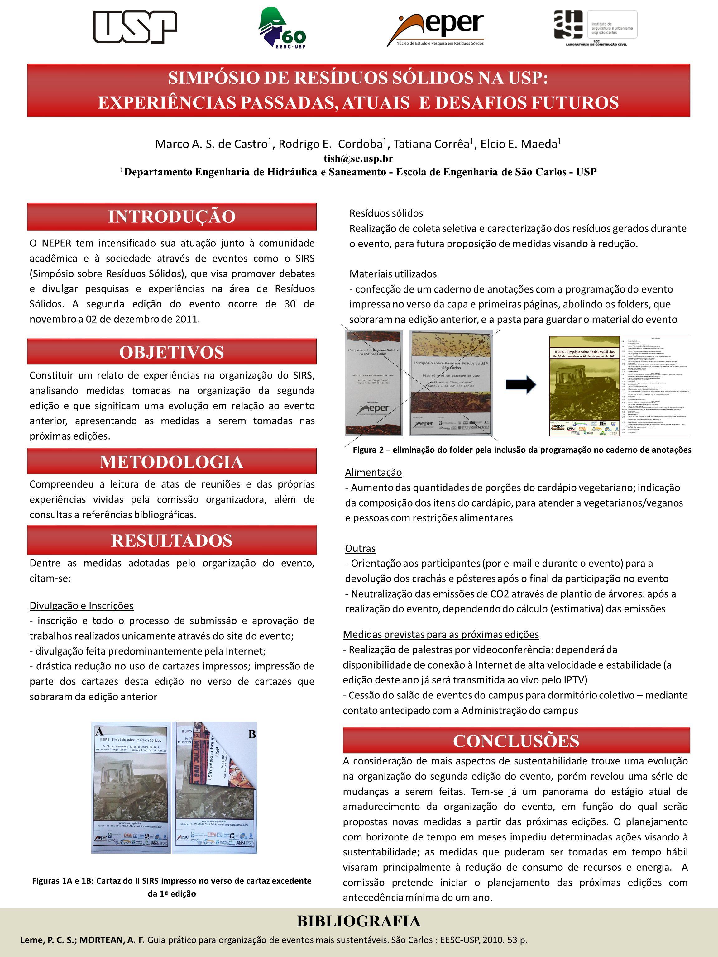 Simpósio de Resíduos Sólidos na USP: experiências passadas, atuais e desafios futuros