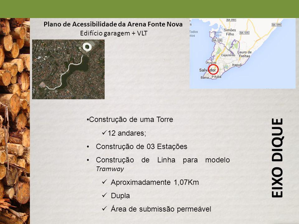 EIXO DIQUE Plano de Acessibilidade da Arena Fonte Nova