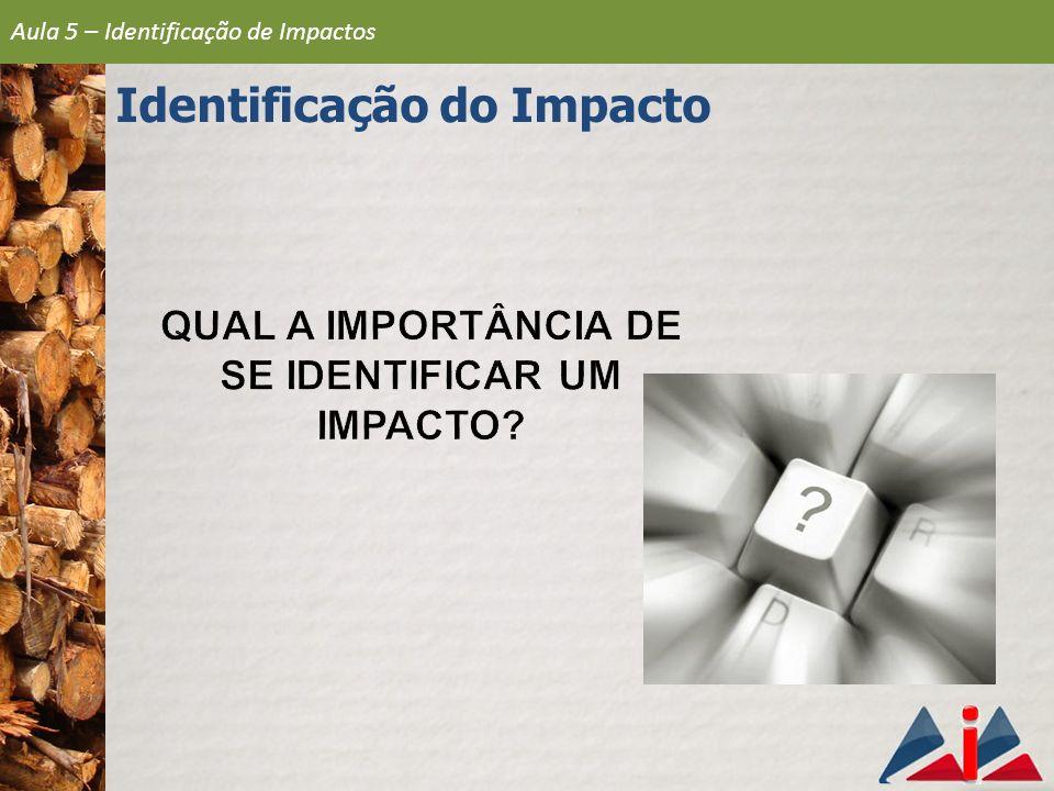 Identificação do Impacto
