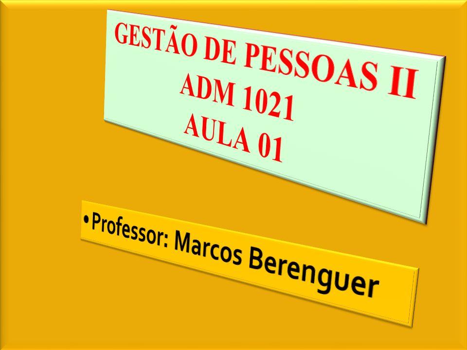 GESTÃO DE PESSOAS II ADM 1021