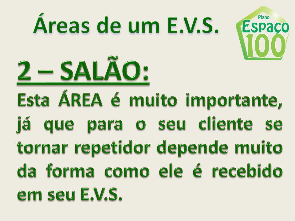 Áreas de um E.V.S. 2 – SALÃO: