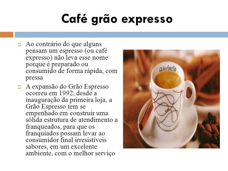 Café grão expresso