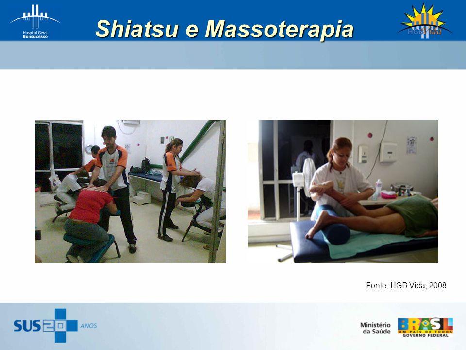 Shiatsu e Massoterapia