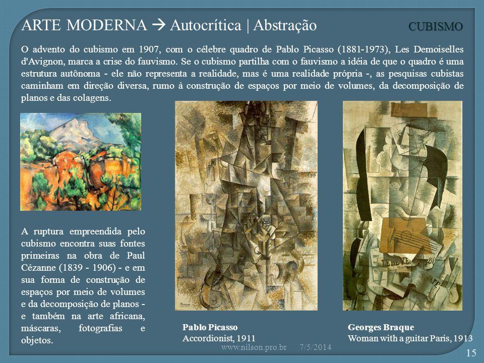 ARTE MODERNA  Autocrítica | Abstração