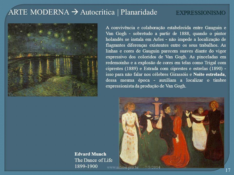 ARTE MODERNA  Autocrítica | Planaridade