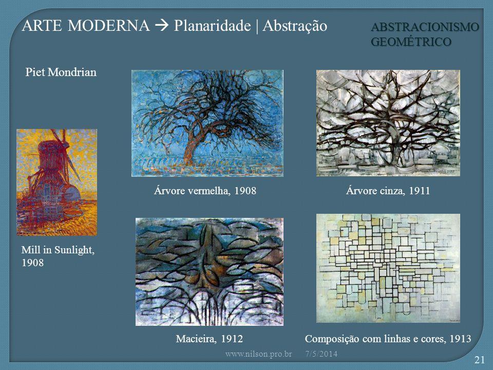 ARTE MODERNA  Planaridade | Abstração