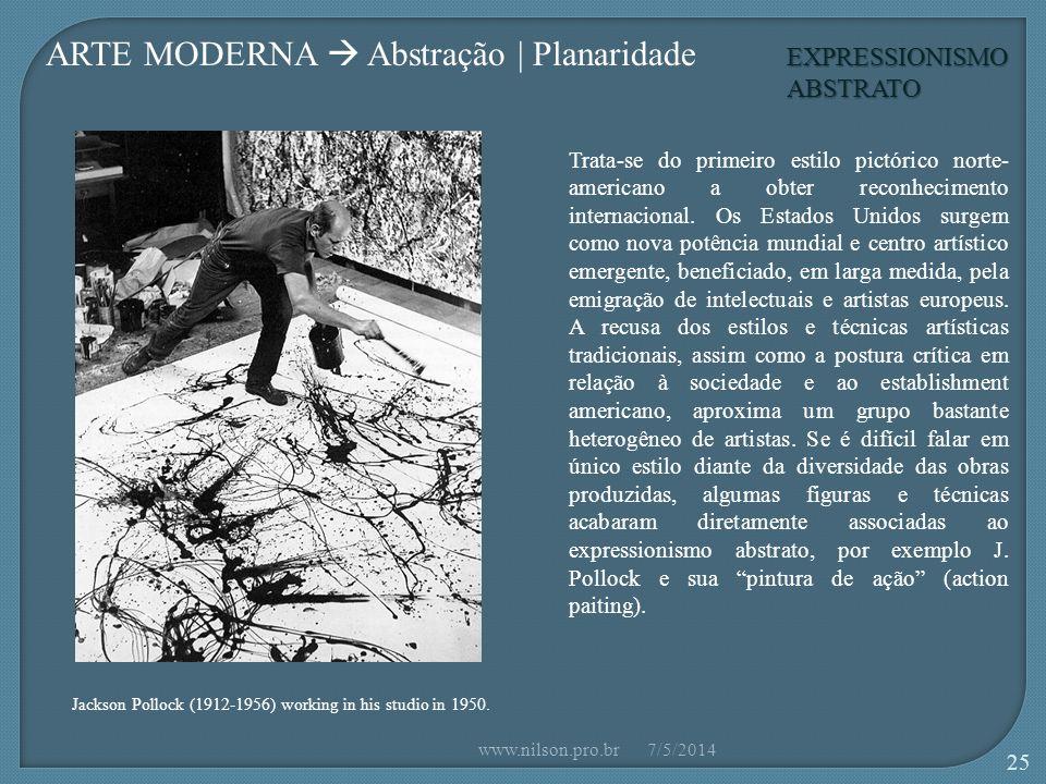 ARTE MODERNA  Abstração | Planaridade