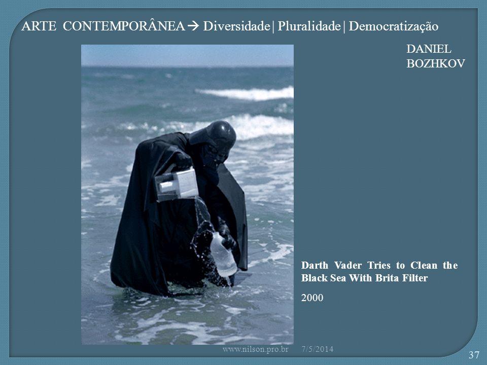 ARTE CONTEMPORÂNEA  Diversidade | Pluralidade | Democratização
