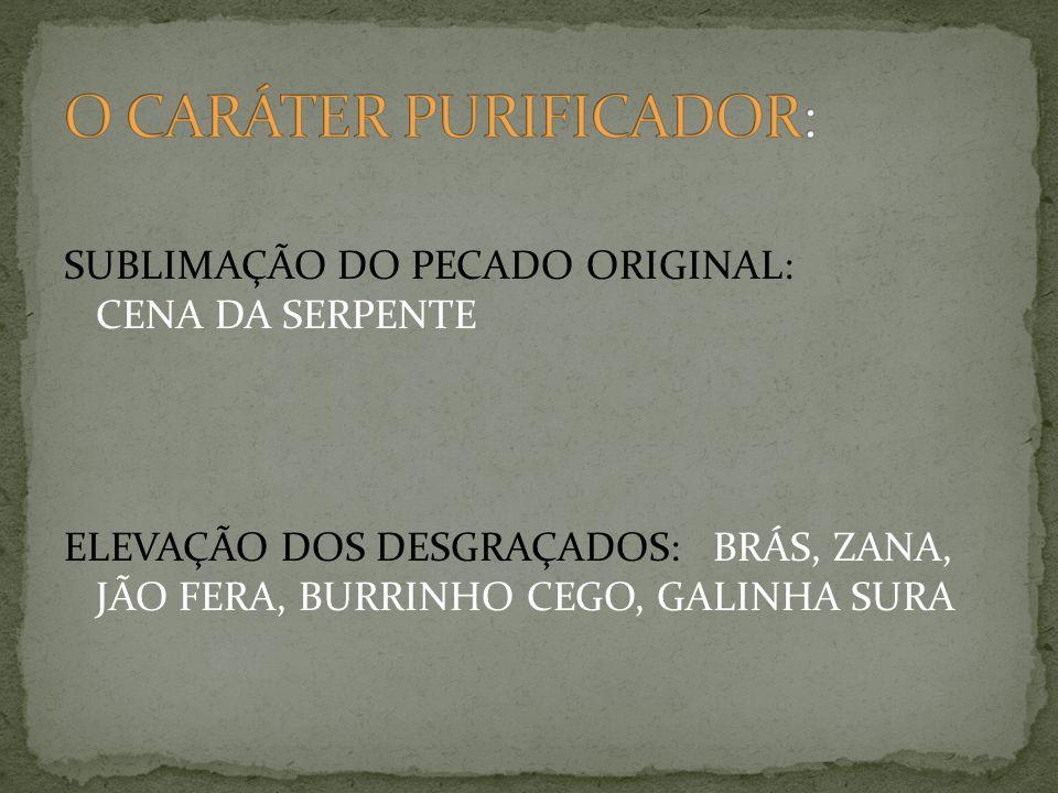 O CARÁTER PURIFICADOR: