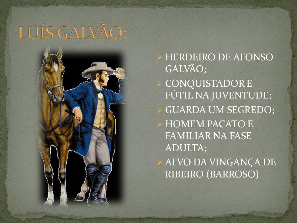 LUÍS GALVÃO: HERDEIRO DE AFONSO GALVÃO;