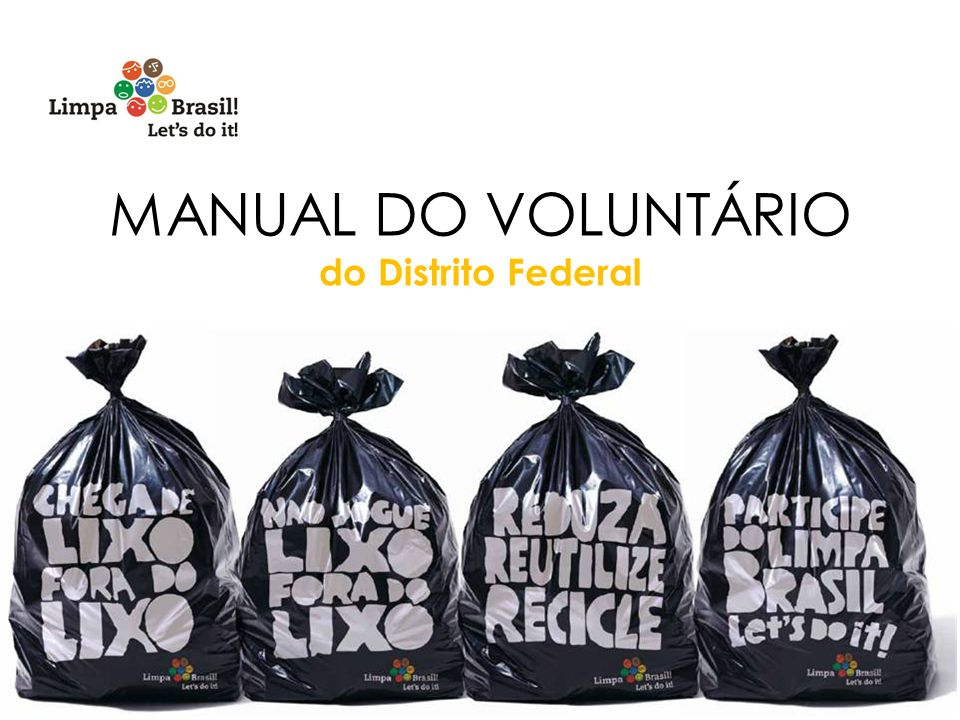 MANUAL DO VOLUNTÁRIO do Distrito Federal 1