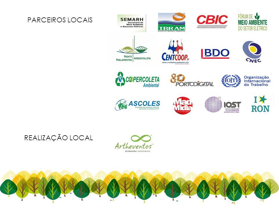 PARCEIROS LOCAIS REALIZAÇÃO LOCAL 22