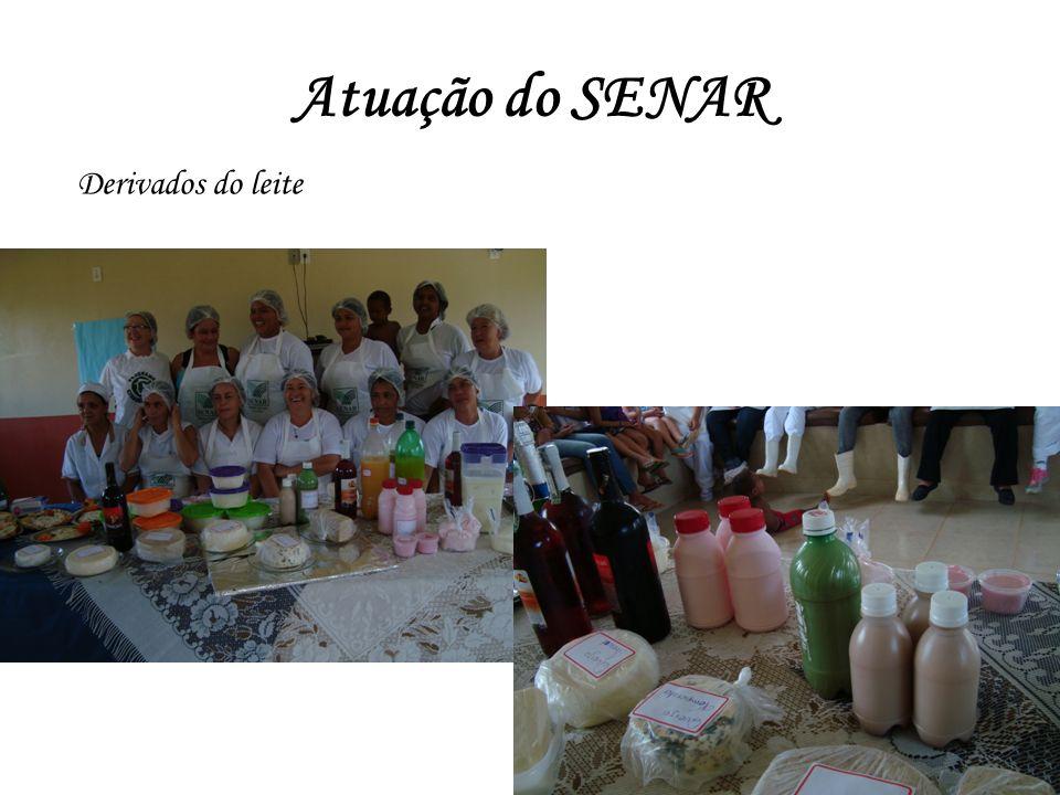 Atuação do SENAR Derivados do leite