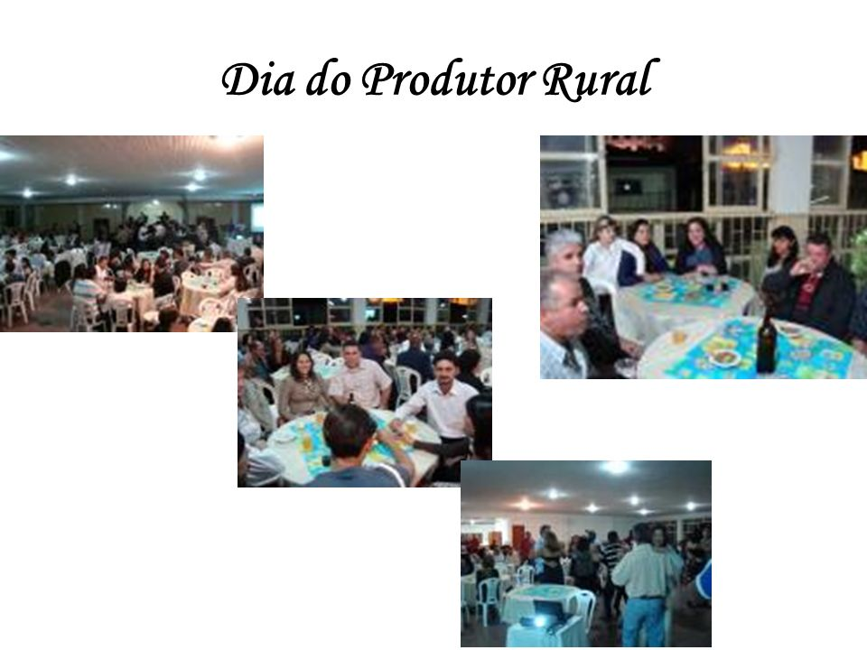 Dia do Produtor Rural