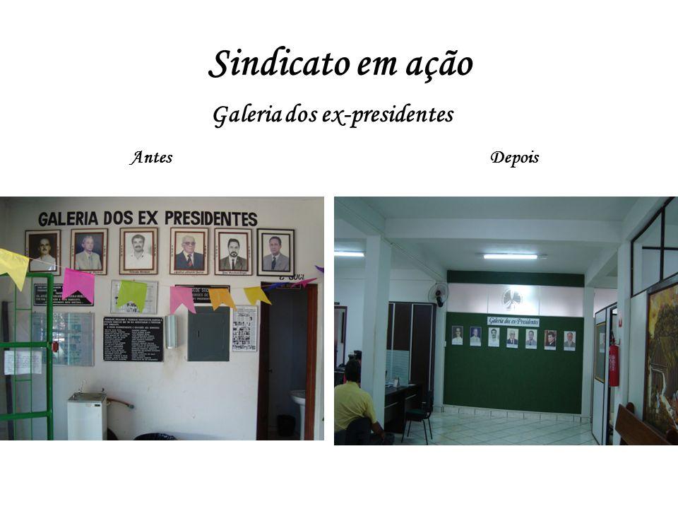Galeria dos ex-presidentes