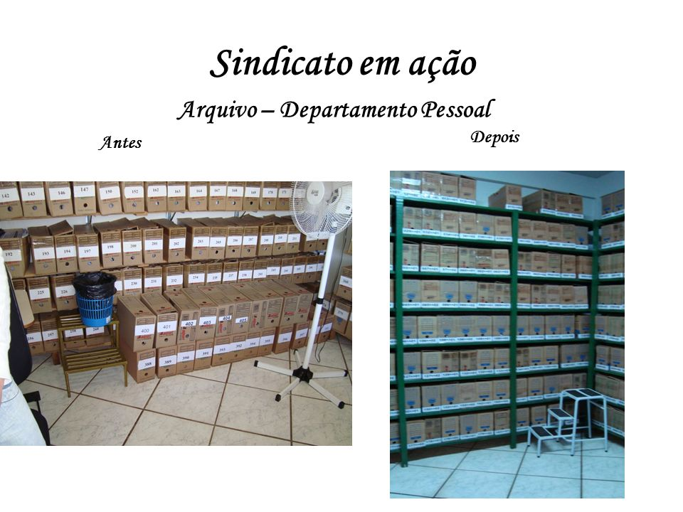 Arquivo – Departamento Pessoal