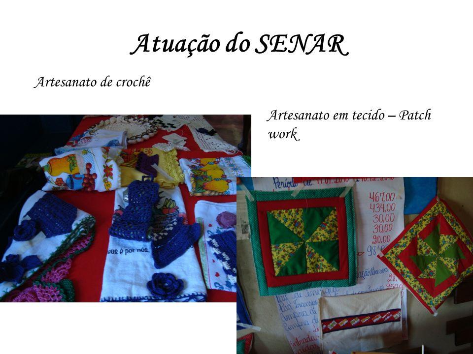 Atuação do SENAR Artesanato de crochê