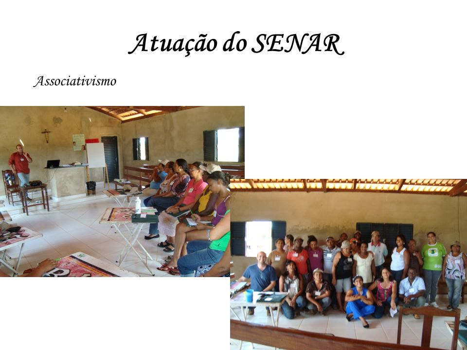 Atuação do SENAR Associativismo