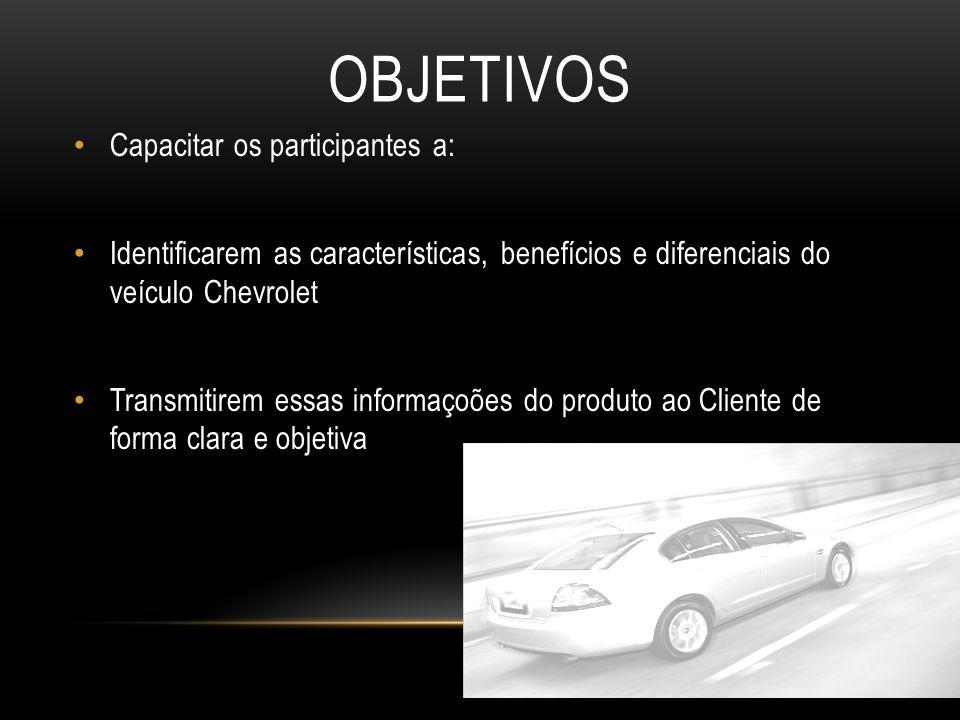 Objetivos Capacitar os participantes a: