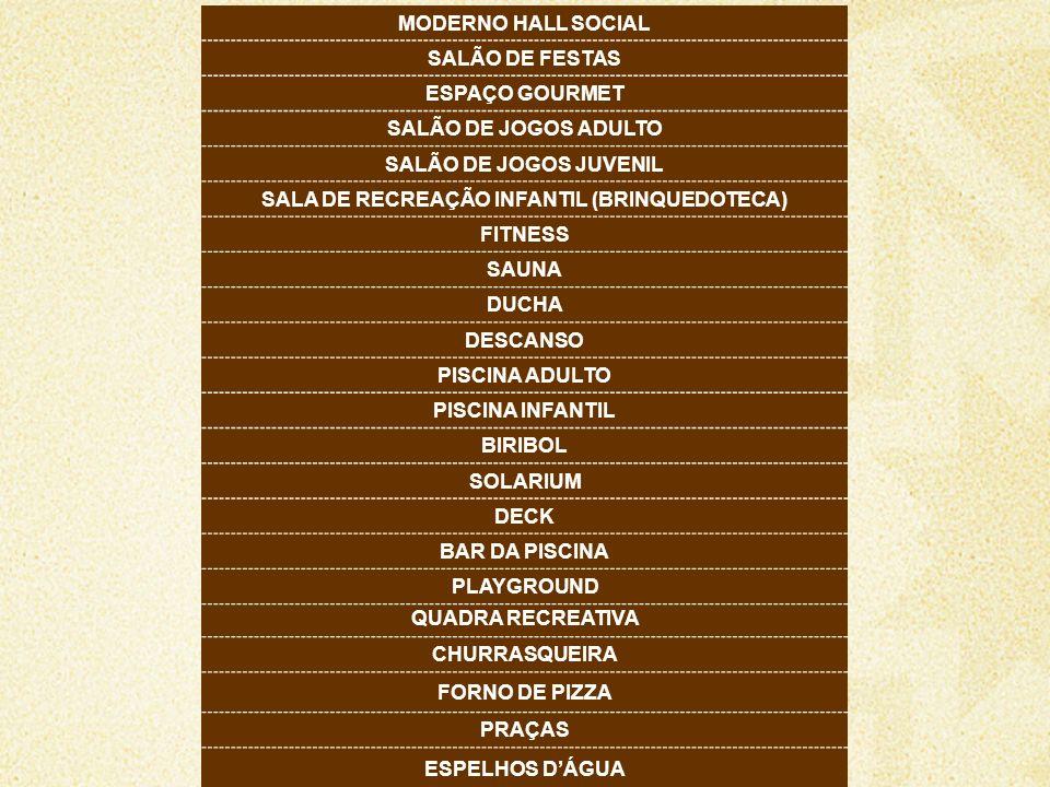 SALA DE RECREAÇÃO INFANTIL (BRINQUEDOTECA)