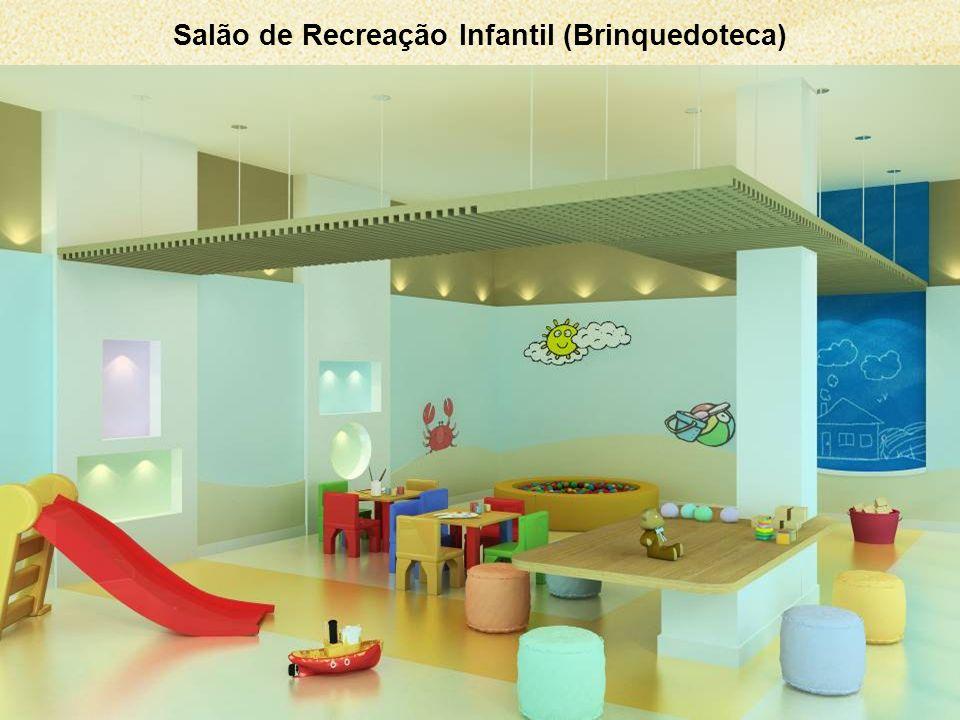 Salão de Recreação Infantil (Brinquedoteca)