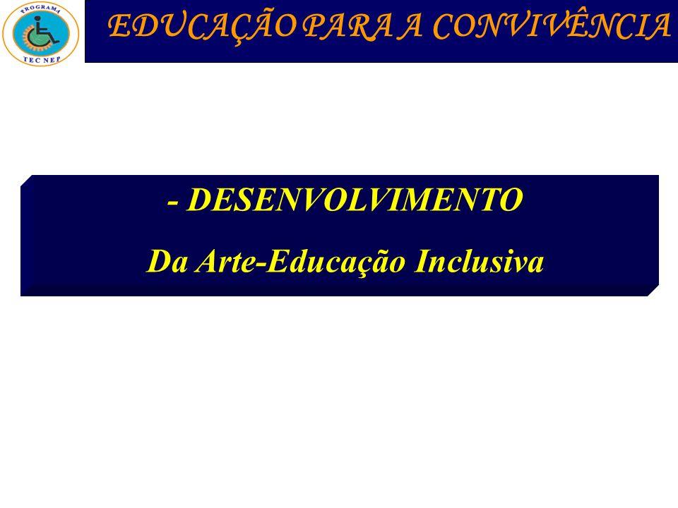 Da Arte-Educação Inclusiva