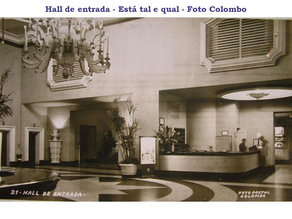 Hall de entrada - Está tal e qual - Foto Colombo
