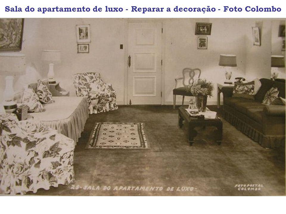 Sala do apartamento de luxo - Reparar a decoração - Foto Colombo