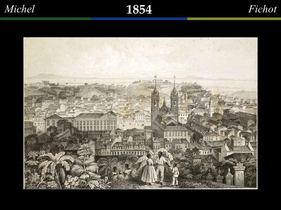Michel Fichot 1854. Palácio da Conceição em 1854.