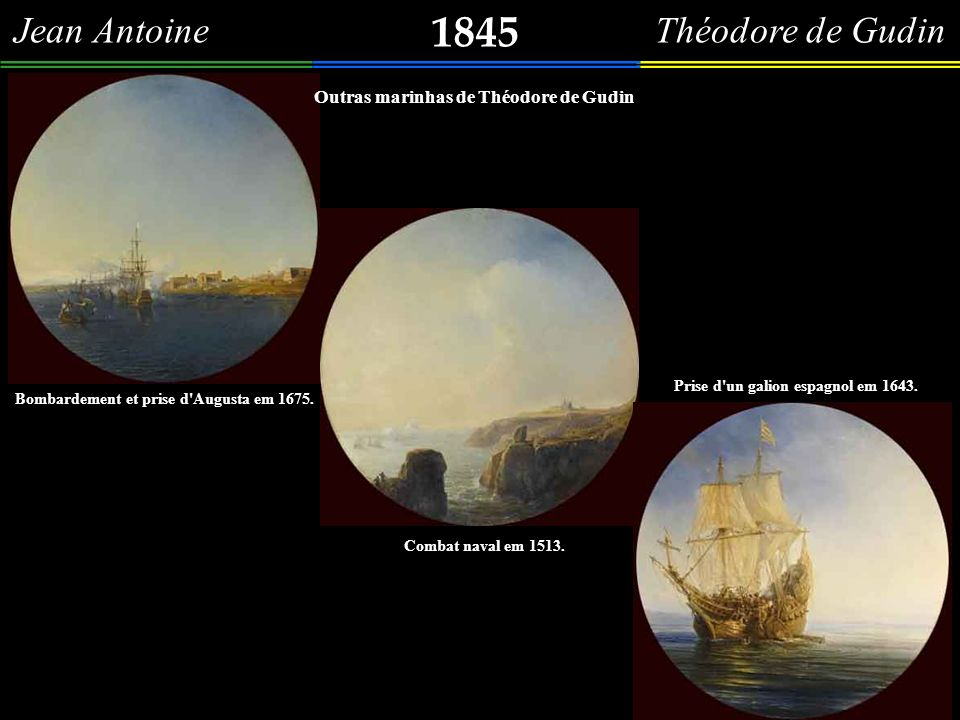 1845 Jean Antoine Théodore de Gudin