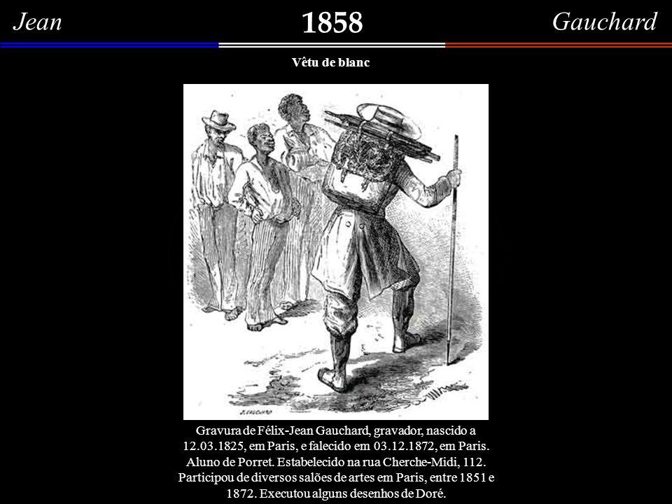 1858 Jean Gauchard Vêtu de blanc