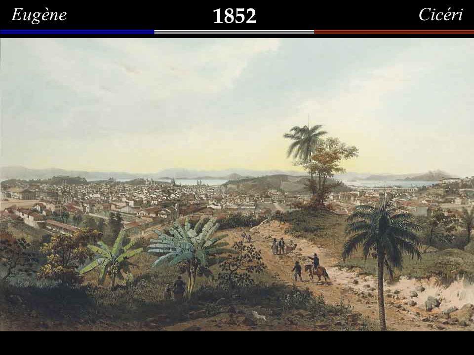 Eugène Cicéri 1852. Morro da Conceição.