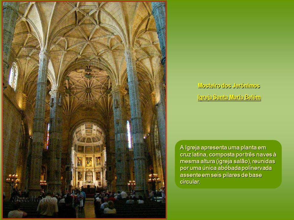 Mosteiro dos Jerónimos Igreja Santa Maria Belém