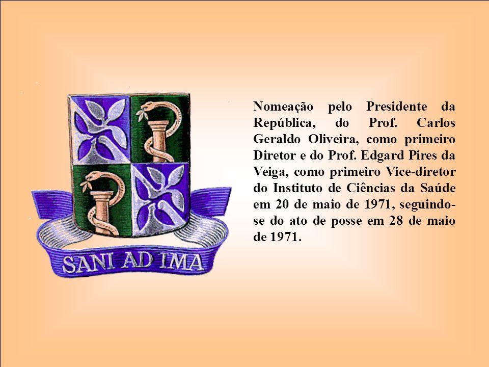 Nomeação pelo Presidente da República, do Prof