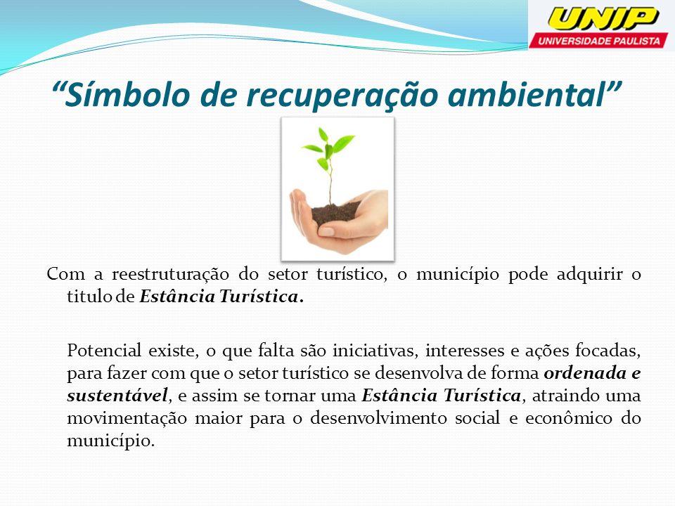 Símbolo de recuperação ambiental