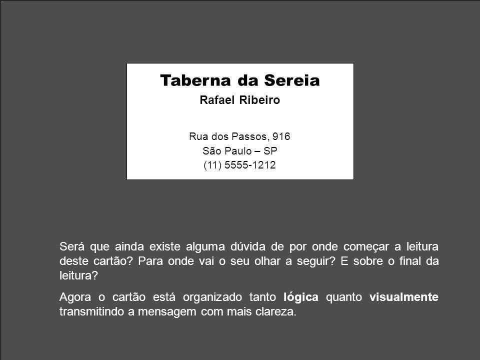 Taberna da Sereia Rafael Ribeiro