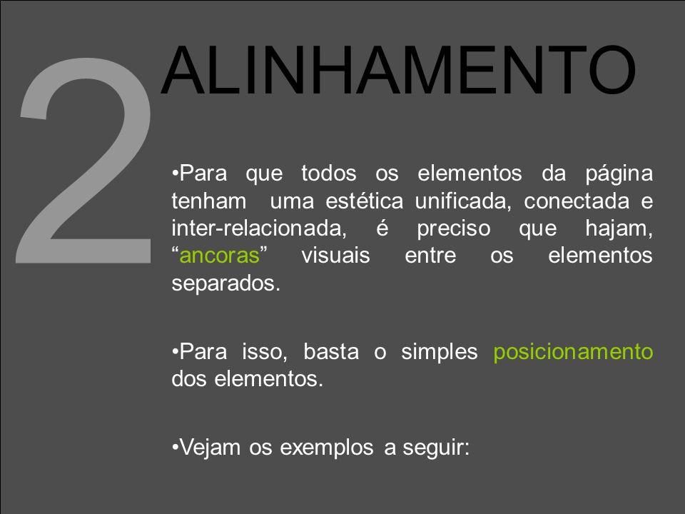2 ALINHAMENTO.