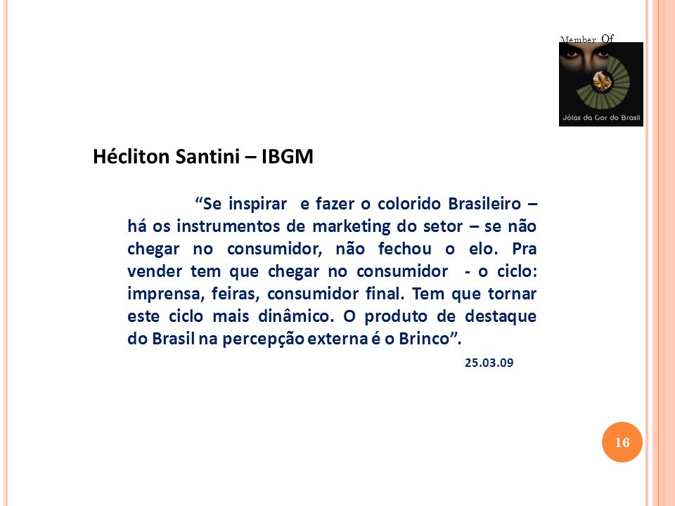 Hécliton Santini – IBGM