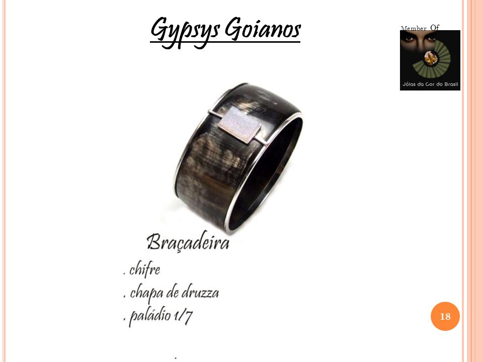 Member Of Gypsys Goianos