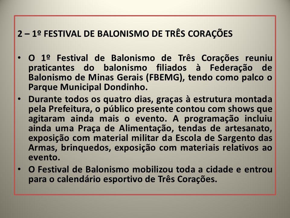2 – 1º FESTIVAL DE BALONISMO DE TRÊS CORAÇÕES